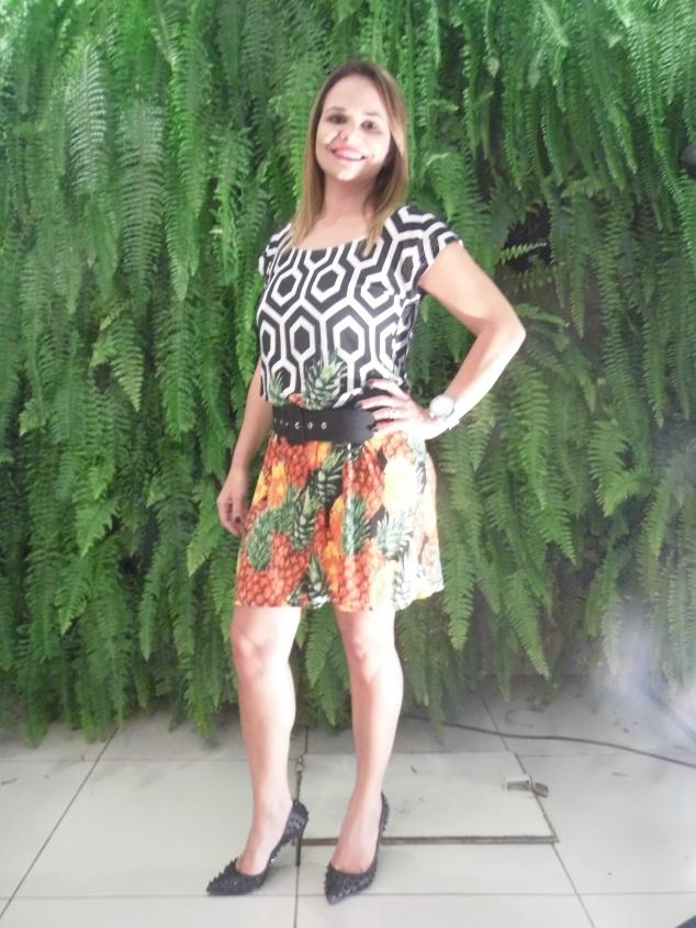 Betânia Borges, blogueira e parceira do blog vestindo Theodoro Saddi