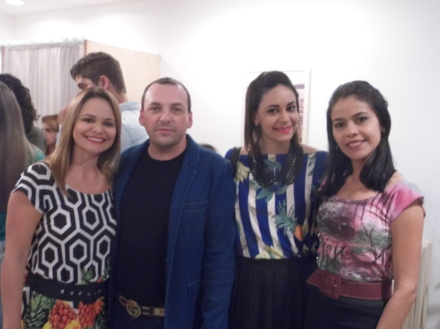 Betânia Borges, Silvano, Ailma Souza e eu