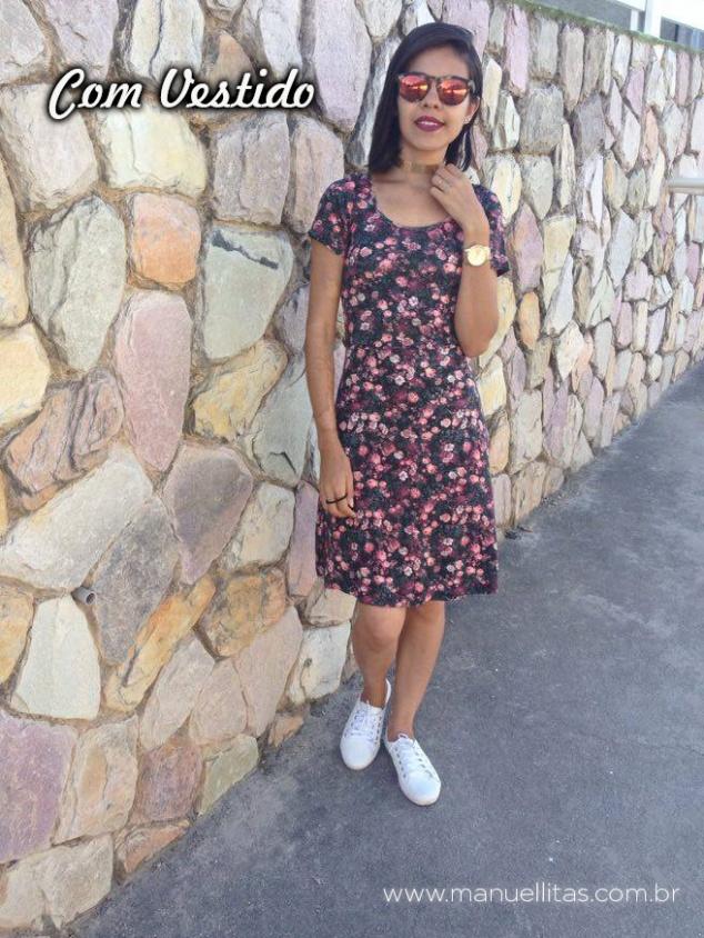 Vestido: lojas Emanuelle Chocker: Ai que linda! Loja de SP